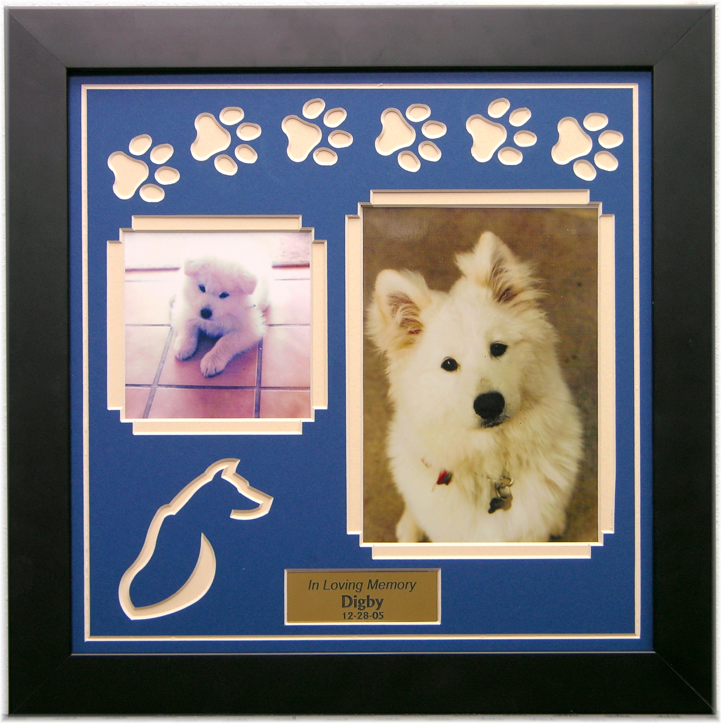 pet memorial video service - Dog Frame