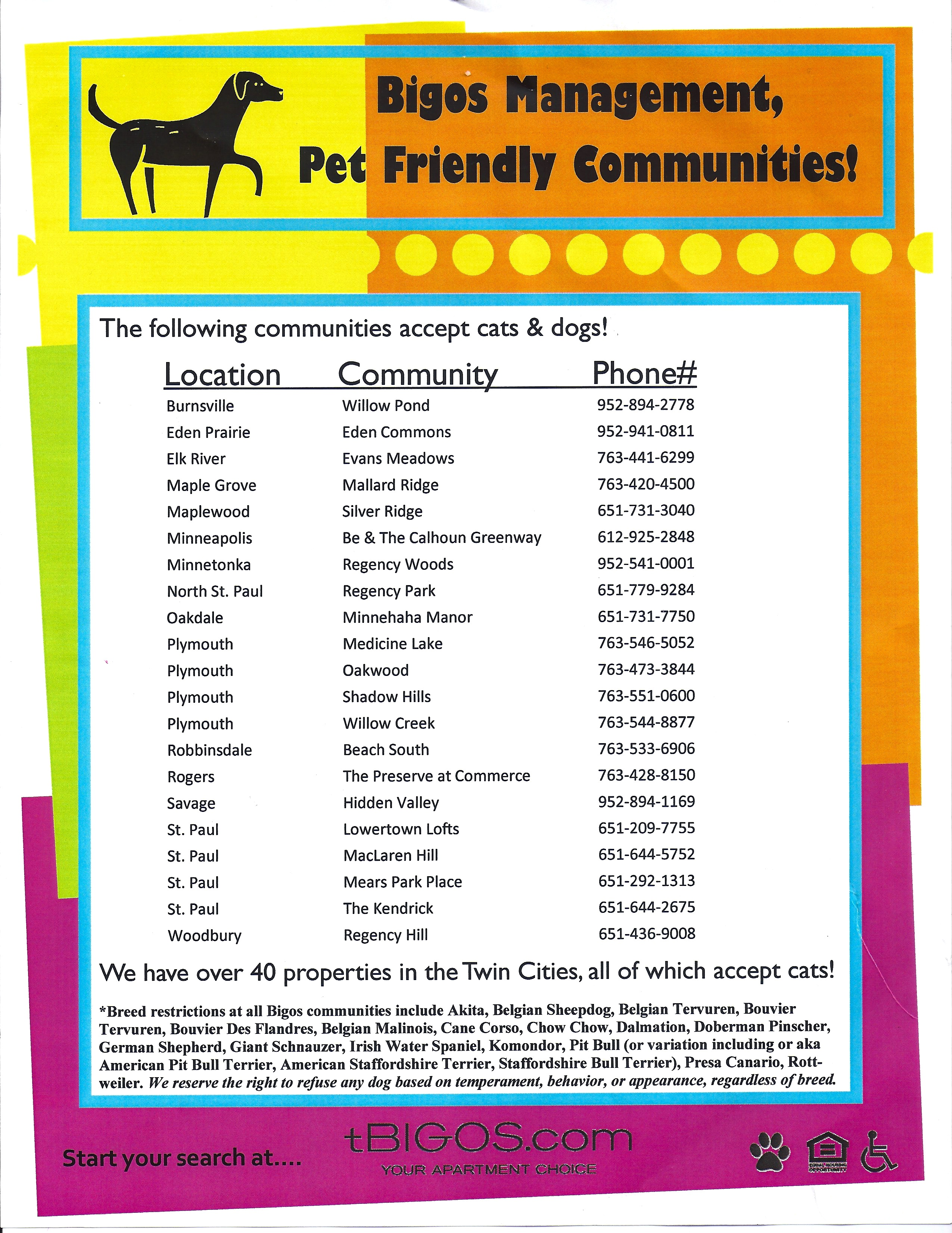Great One Of The Worst Things To Endure Is Having To Give Up A Pet When You Move  Because Your New Apartment Doesnu0027t Allow Pets. Here Are Some Places To  Check Out ...